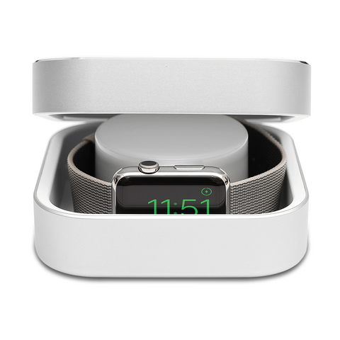 Apple Watch Charger Silver