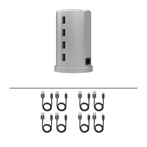 ALLDOCK Silver Tower Package