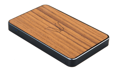 Woodie Wireless Power Bank Teak
