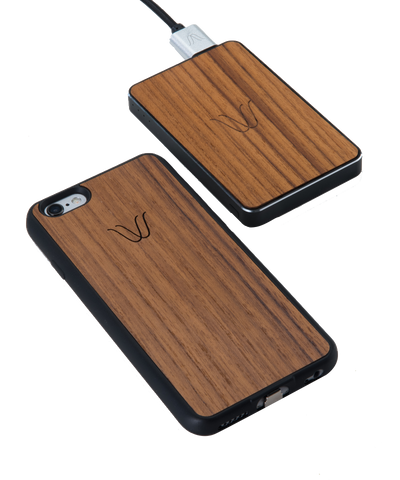 Woodie Wireless Kit for iPhone 6 Teak