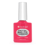 3-in-1 Gel Base + Top Coat + Hardener