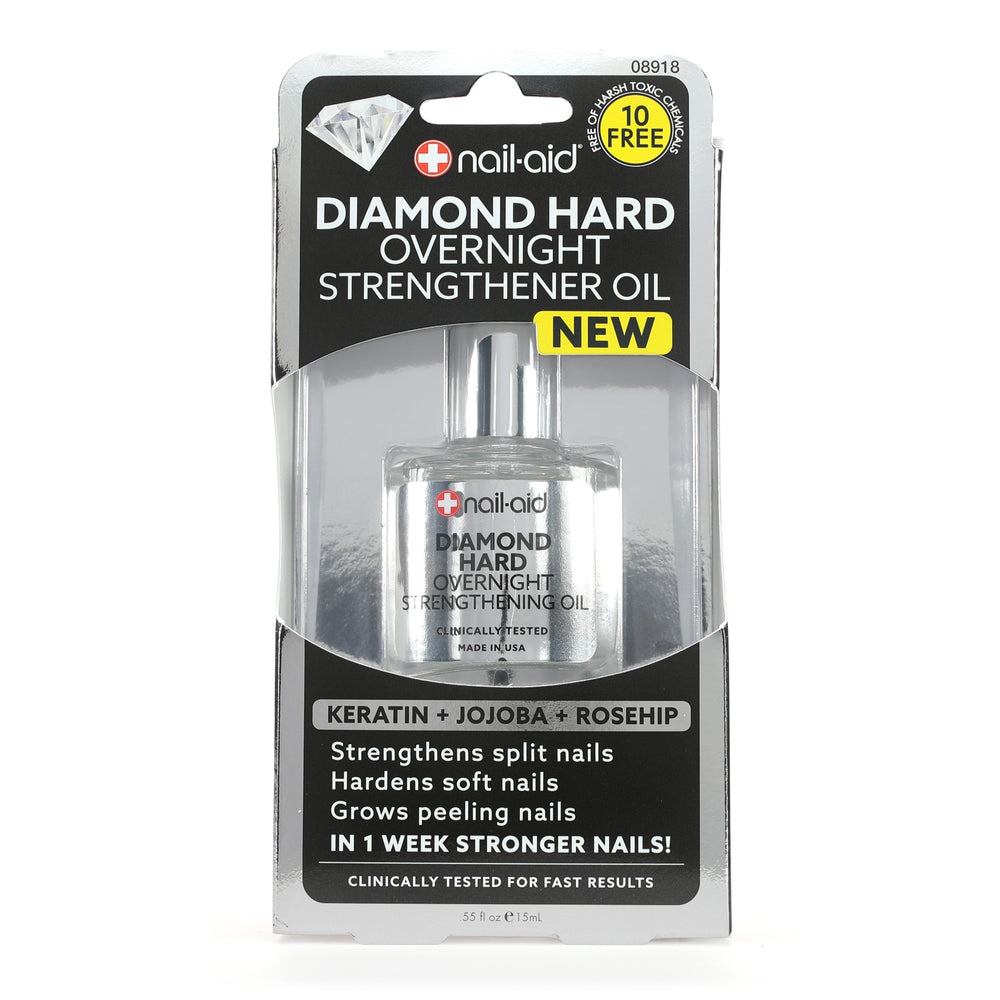 Diamond Hard Overnight Strengthener Oil