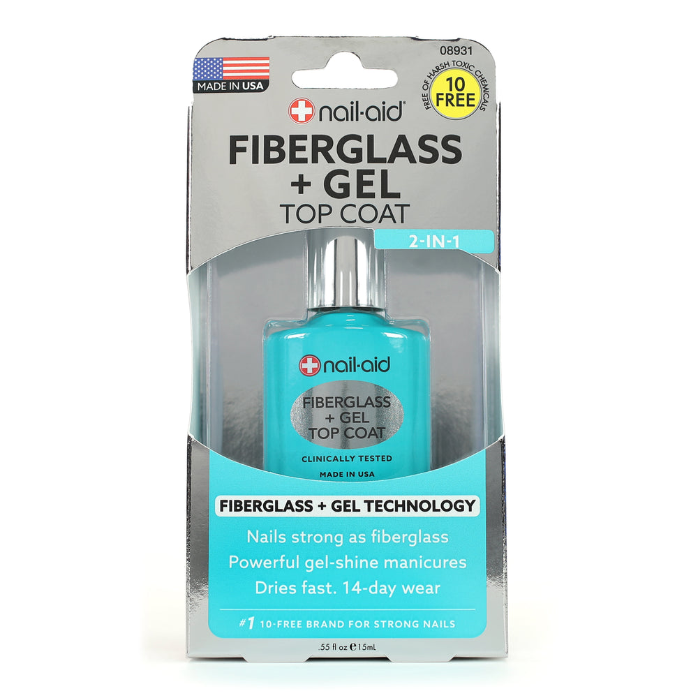 Fiberglass + Gel Top Coat