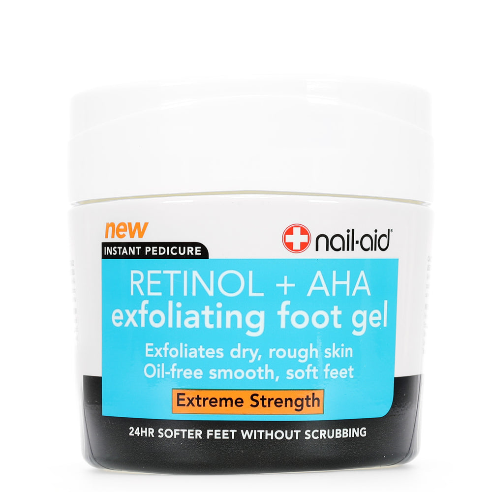 Retinol + AHA Exfoliating Foot Gel