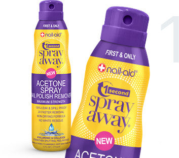 Acetone Spray Remover Hyaluronic & Collagen