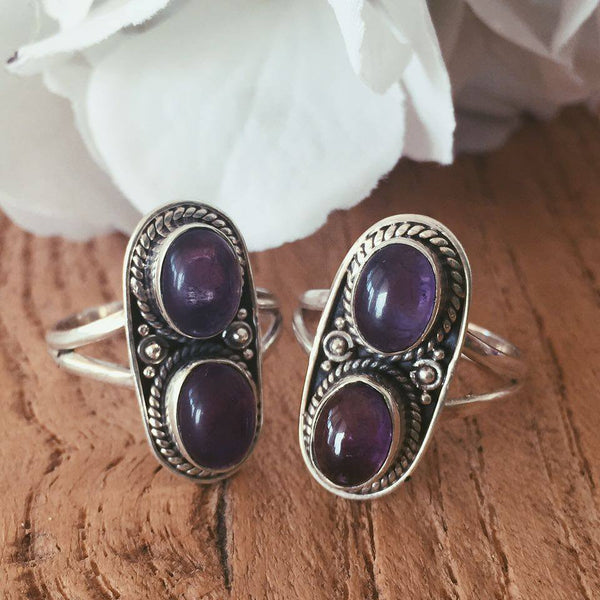 Sterling Silver Amethyst | Ring