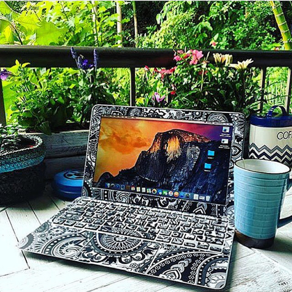 Bohemian Paisley | Macbook Skin