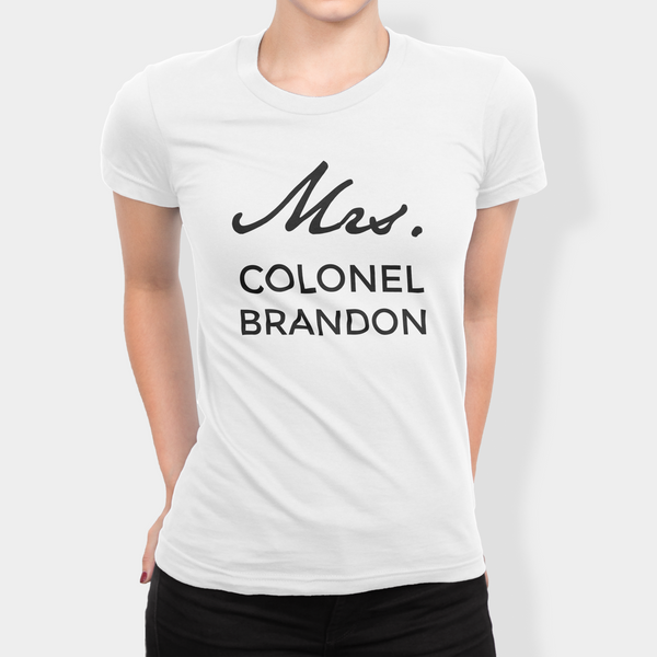 Mrs. Colonel Brandon Shirt - White - Austenalia