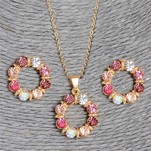 Colorful Fashion Jewelry Sets