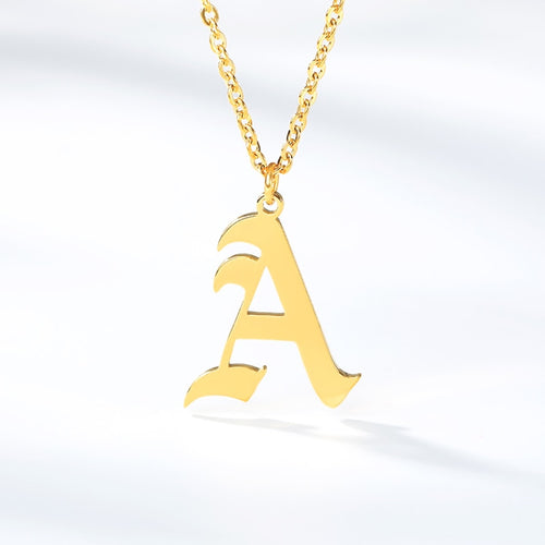 Cute Initial Necklaces