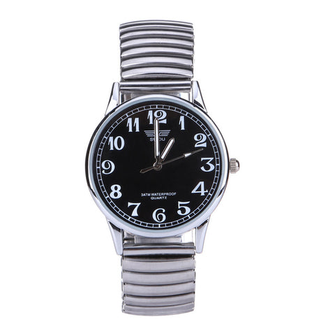 Stainless Steel Quartz Retro Watch
