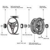 High Quality Interchangeable Fly Fishing Reel (3/4 | 5/6 | 7/8)