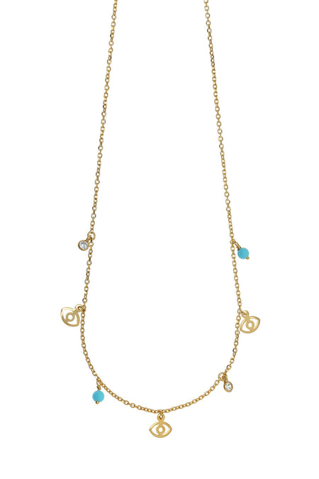 Mini Mati Gold Necklace