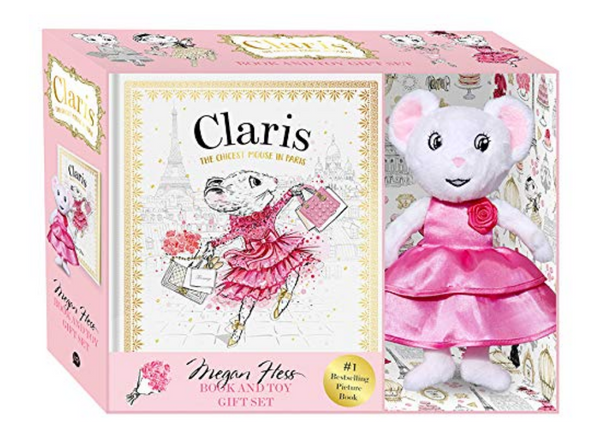 Clarice Mouse Book Gift Set