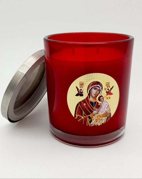 Livani Icon Candle - Red