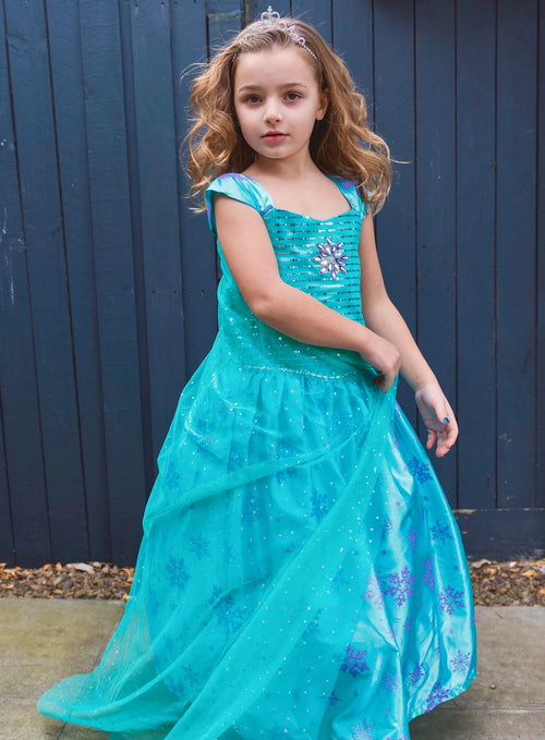 Frozen Princess Elsa Dress from Disney Frozen Movie