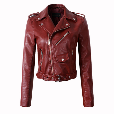 Beckett - Faux Leather Jacket