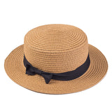 Classic Straw Boater Hat