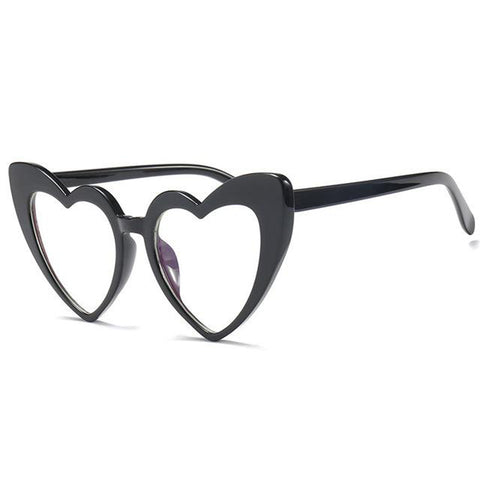 Retro Heart Glasses