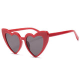 Retro Heart Shaped Sunglasses
