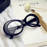Retro Glasses Oval