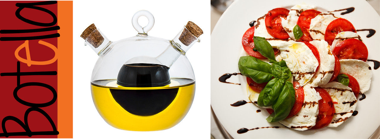 Olive Oil and Vinegar Decanter