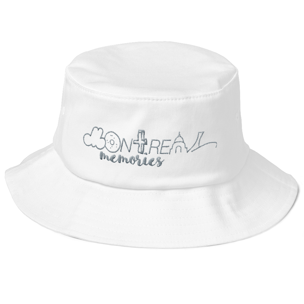 MM White Bucket Hat