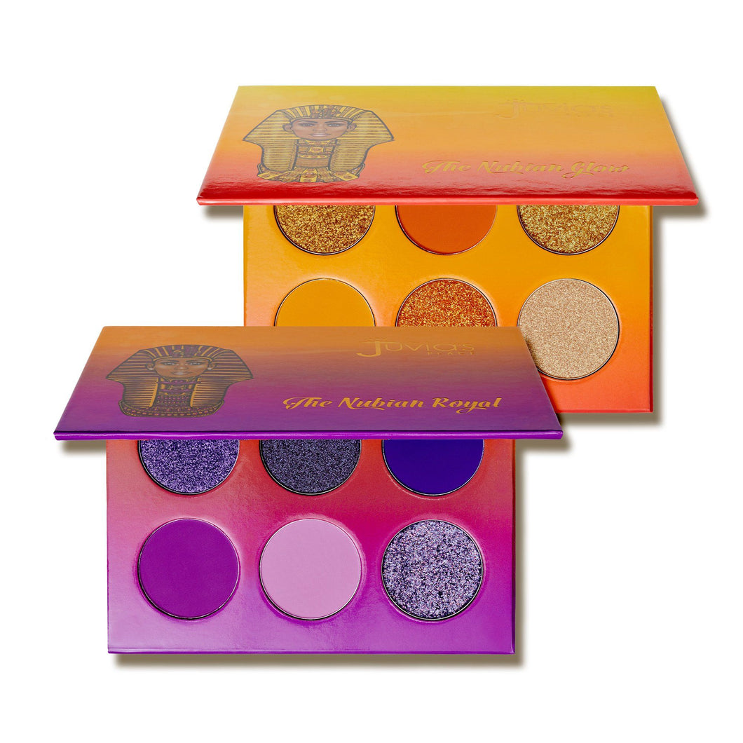 Nubian Royal + Glow Palette Bundle