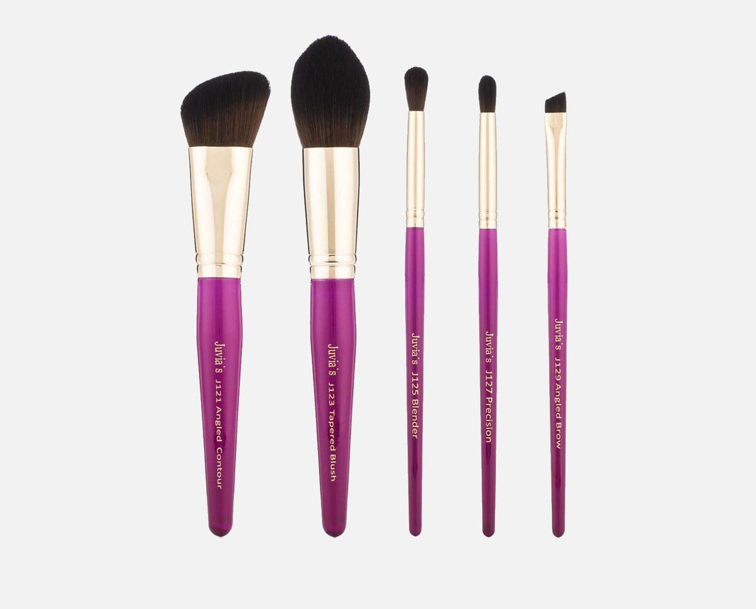 5PCS PINK BRUSH SET
