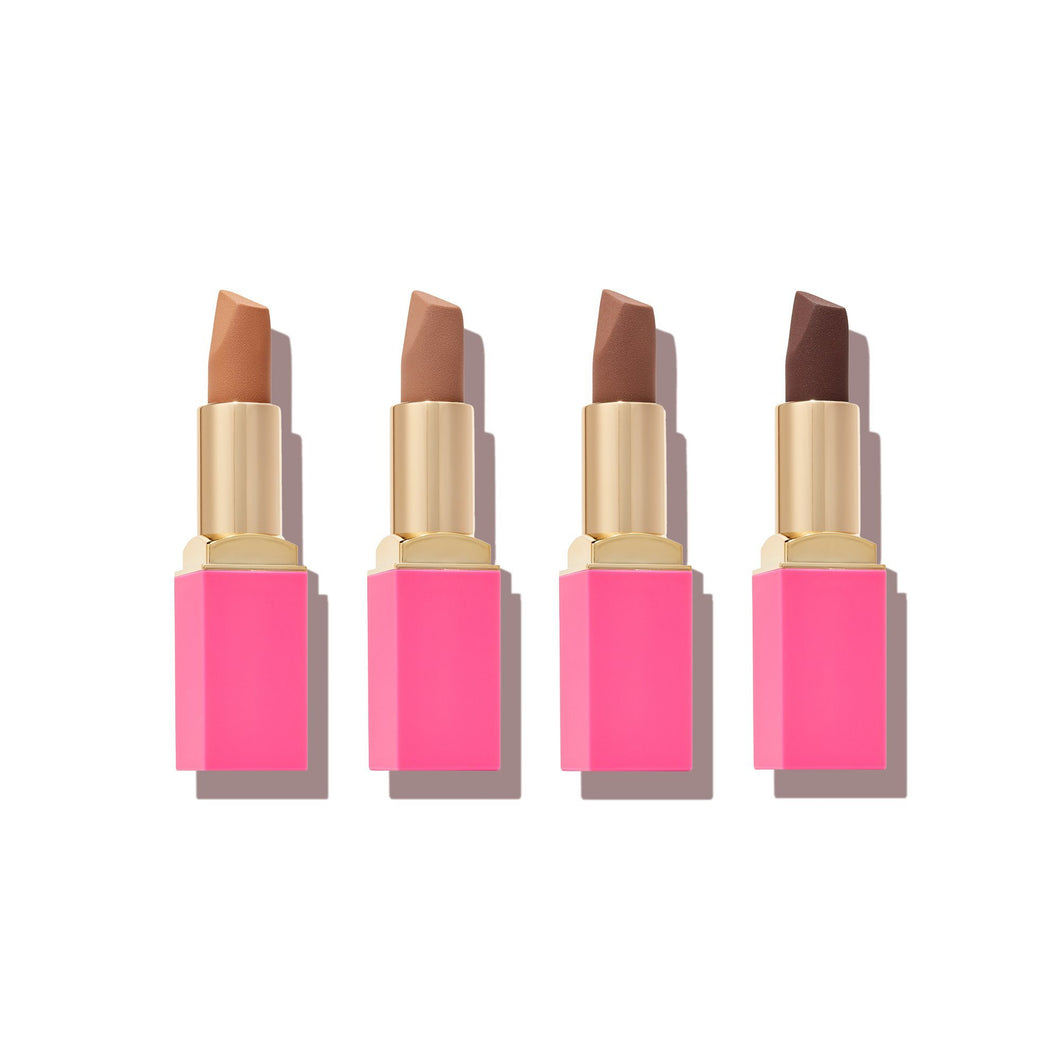 The Nudes Chocolate Lipstick Bundle