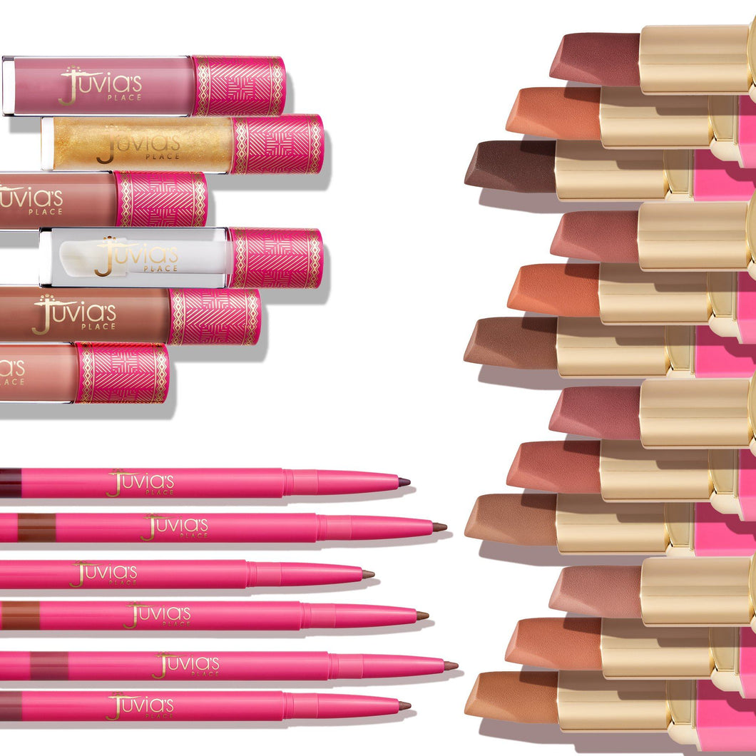 The Nude Lip Collection