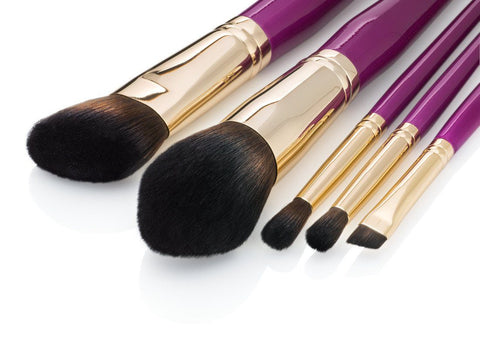 Pink 5pcs Brush Set