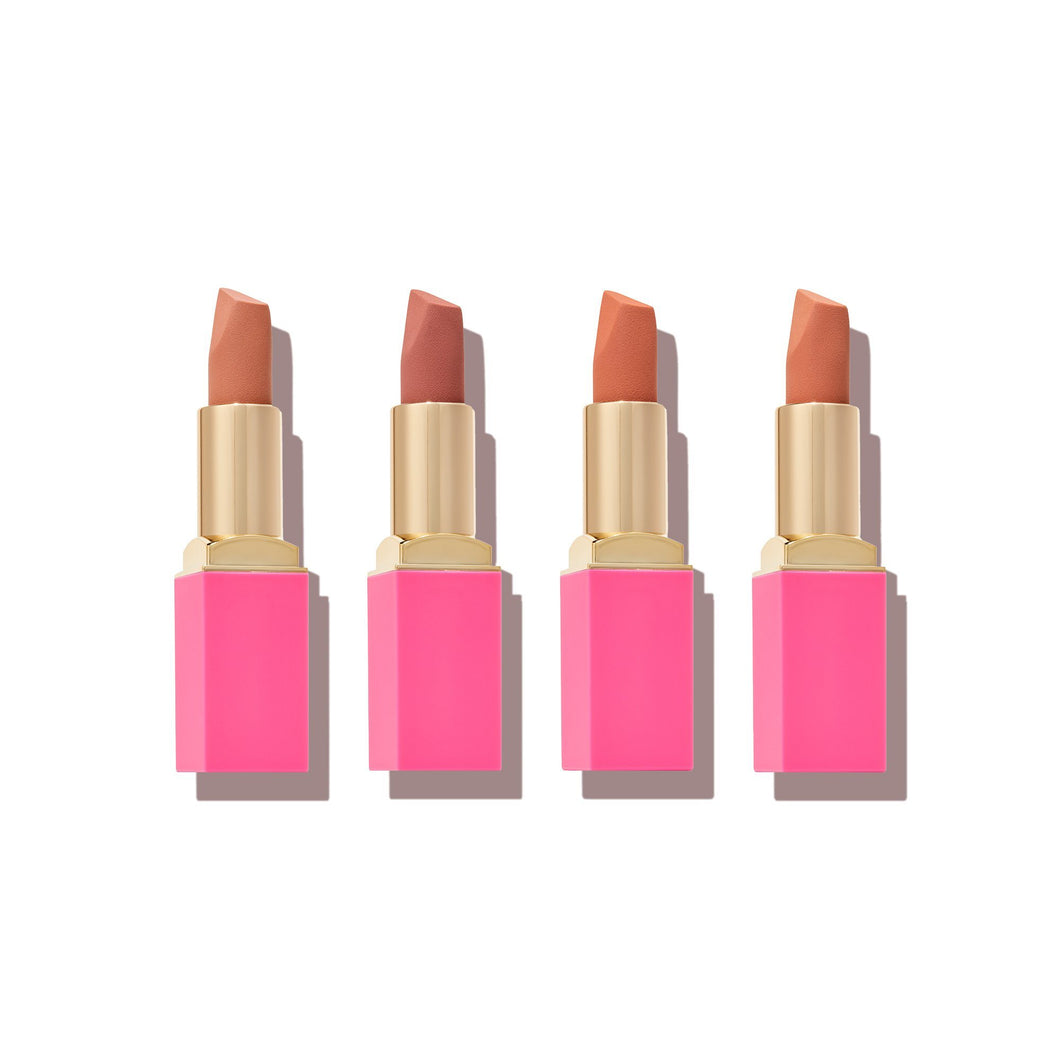 The Nudes Peaches Lipstick Bundle
