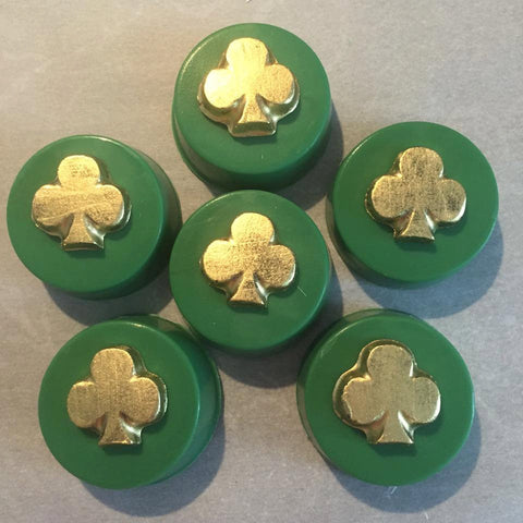 1 Dozen Green Gold Shamrock Oreos Oreo Party Favors Sweets Table St Patricks Day wedding Anniversary  Corporate Baby Shower Birthday Party - Sparkling Sweets Boutique,  - chocolate