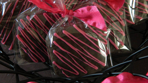12 Chocolate Covered Graham Crackers Wedding Birthday Baby Shower Bridal Treats Favors - Sparkling Sweets Boutique,  - chocolate