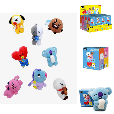 BT21 Line Friends Characters Blind Box Series 1 Mini Plush