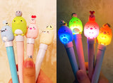 Sumikko Gurashi with LIGHT Writing Gel Pen, Removable Mascot Top!
