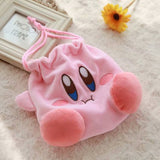 Kawaii Plush Kirby Fluffy Drawstring Bag