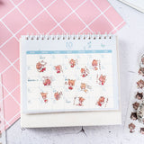 Cosplay Cats Girl and Boy Washi Stickers, A Set! 6 Different Sheets Included!