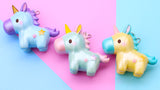 Licensed SHIMMERY Magical Unicorn SCENTED Slow Rising Squishy Charm