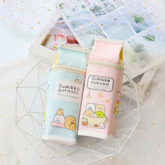 Sumikko Gurashi Milk Box PU Leather Pencil Pen Case