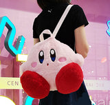 Kirby Fluffy Plush Backpack