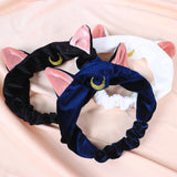 Luna Cat Inspired Headband with EARS