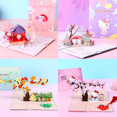 Sanrio Pop UP 3D Greeting Cards