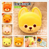 Rare*Licensed AMUSE Puppy Bread Bun Squishy Charm