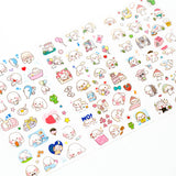 Happy Dog Stickers, A Set! 6 Different Sticker Sheets Included!