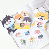 Japan MW Licensed Shibanban Puppy Collection Stickers