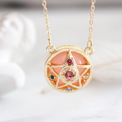 Magic Star Crystal Gem Necklace