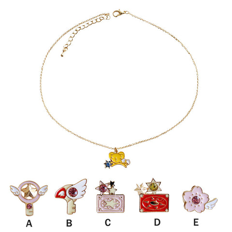 Japan Kawaii Cartoon Necklace