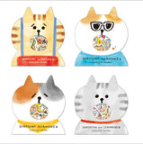 Japan Mind Wave Licensed Meow Cat Collection Stickers